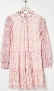 Sukienka Sinsay oversize z długim rękawem w stylu casual
