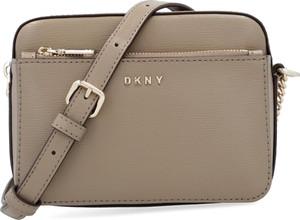 Torebka DKNY średnia ze skóry na ramię