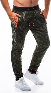 Spodnie sportowe Edoti w street stylu z dresówki