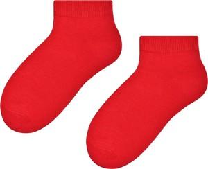 Czerwone skarpetki Steven dla chłopców