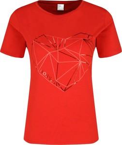 T-shirt BOSS Casual z okrągłym dekoltem z krótkim rękawem w stylu casual