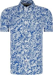 Koszula Tommy Hilfiger w młodzieżowym stylu z krótkim rękawem