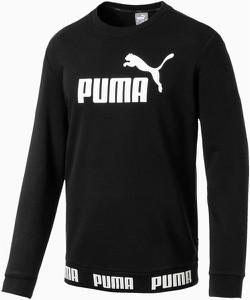 Czarna bluza Puma z bawełny