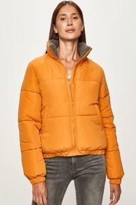 Pomarańczowa kurtka Vila w stylu casual krótka