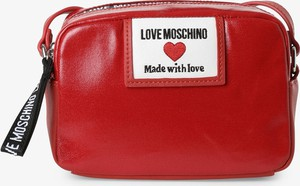 Czerwona torebka Love Moschino średnia
