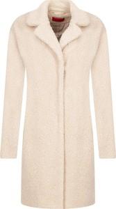 Różowy płaszcz Hugo Boss w stylu casual