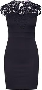 Czarna sukienka WAL G. dopasowana mini