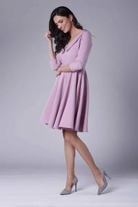 70cf69a5c73b2 jasnoróżowa sukienka jakie dodatki - stylowo i modnie z Allani