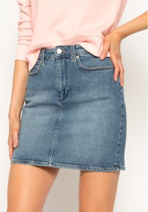 Niebieska spódnica Wrangler z jeansu