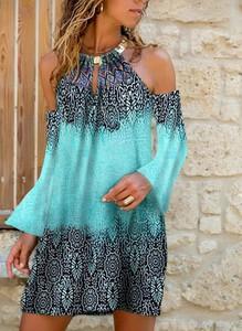 Sukienka Sandbella z długim rękawem mini