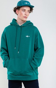 Zielona bluza Big Star w młodzieżowym stylu