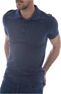 Niebieski t-shirt 7 for all mankind z krótkim rękawem w stylu casual