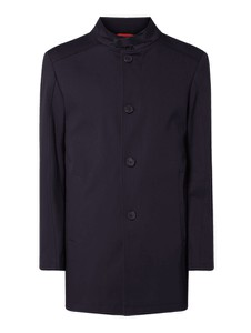 Granatowy płaszcz męski Cinque z bawełny