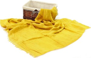 Żółty szalik Valentina