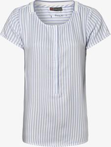 Niebieska bluzka STREET ONE z krótkim rękawem