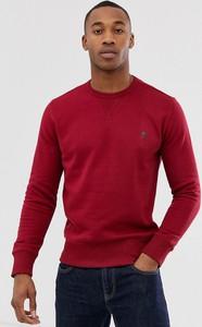 Czerwona bluza French Connection z dresówki