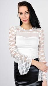 Bluzka Zoio z okrągłym dekoltem