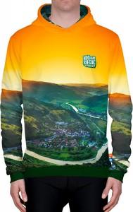 Bluza Power Canvas z bawełny z nadrukiem w młodzieżowym stylu