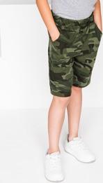 Zielone spodenki dziecięce Ombre Clothing z bawełny