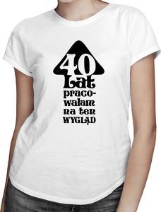 T-shirt Koszulkowy z krótkim rękawem z okrągłym dekoltem w młodzieżowym stylu