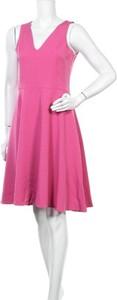Sukienka Felipe Albernaz bez rękawów z dekoltem w kształcie litery v