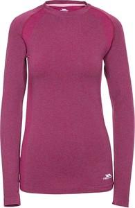 Różowy t-shirt Trespass w stylu casual