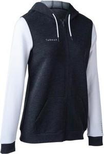 Czarna bluza Tarmak w młodzieżowym stylu