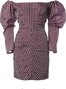 Sukienka Philosophy di Lorenzo Serafini z długim rękawem