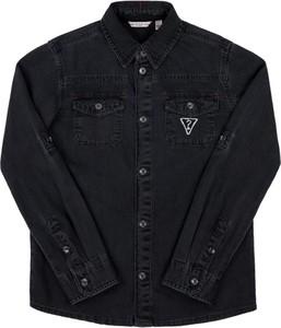 Czarna koszula dziecięca Guess