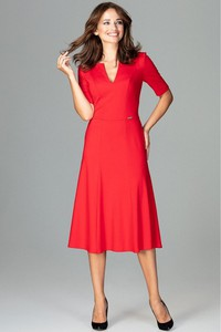 35cb2aff53 elegancka sukienka za kolano - stylowo i modnie z Allani