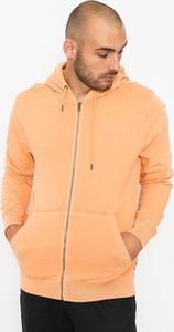 Pomarańczowa bluza Volcom z bawełny