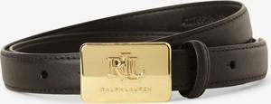 Czarny pasek Ralph Lauren