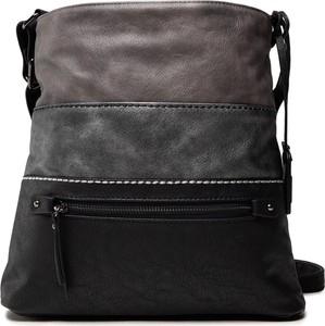 Czarna torebka Rieker w młodzieżowym stylu na ramię