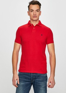 T-shirt POLO RALPH LAUREN z krótkim rękawem z bawełny