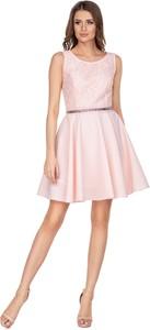 Sukienka Ptakmoda.com wyszczuplająca mini z tiulu