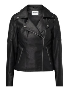 Czarna kurtka Noisy May w stylu casual krótka