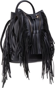 Czarny plecak DeeZee ze skóry