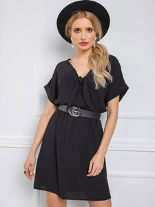 Czarna sukienka PANTOFELEK-botki.pl mini z tiulu