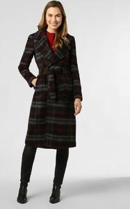 Czarny płaszcz Liu Jo Collection z moheru