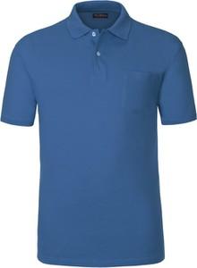 Koszulka polo Tom Rusborg w stylu casual z krótkim rękawem z bawełny