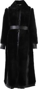 Czarny płaszcz Stella McCartney w stylu casual