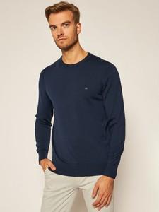 Sweter Calvin Klein w stylu casual z wełny