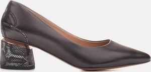 Czółenka Marco Shoes na obcasie na średnim obcasie w stylu boho