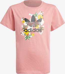 Bluzka dziecięca Adidas Originals z bawełny