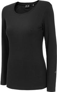 Bluzka 4F z długim rękawem z okrągłym dekoltem w sportowym stylu
