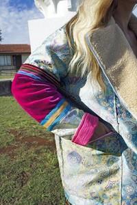 Kurtka MissSpark w rockowym stylu z tkaniny