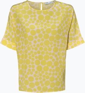 Żółta bluzka Tonno & Panna z krótkim rękawem