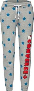 Spodnie Converse z bawełny