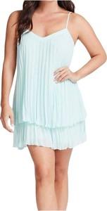 Niebieska sukienka Guess