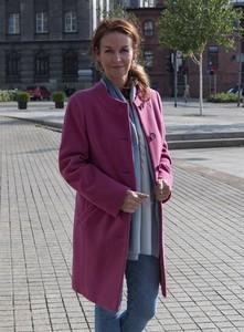 Płaszcz Caro Fashion z wełny